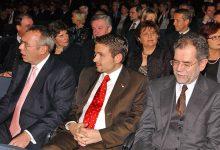 Alfred Gusenbauer, Gerald Grosz und Alexander Van der Bellen