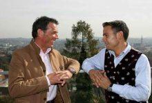 Zwei Freunde: Jörg Haider und Gerald Grosz