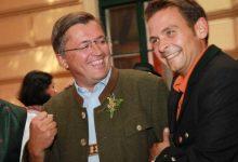 Bauernbundpräsident Abg. Fritz Grillitsch mit Gerald Grosz