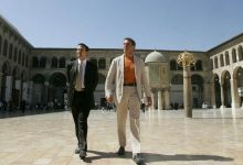 Gerald Grosz mit Kärntens Landeshauptmann Jörg Haider in Damaskus