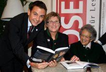 Gerald Grosz mit Haider-Schwester Ursula Haubner und Haider-Mutter Dorothea Haider