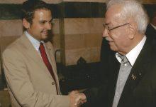 Gerald Grosz mit dem syrischen Verteidigungsminister Mustafa Tlas